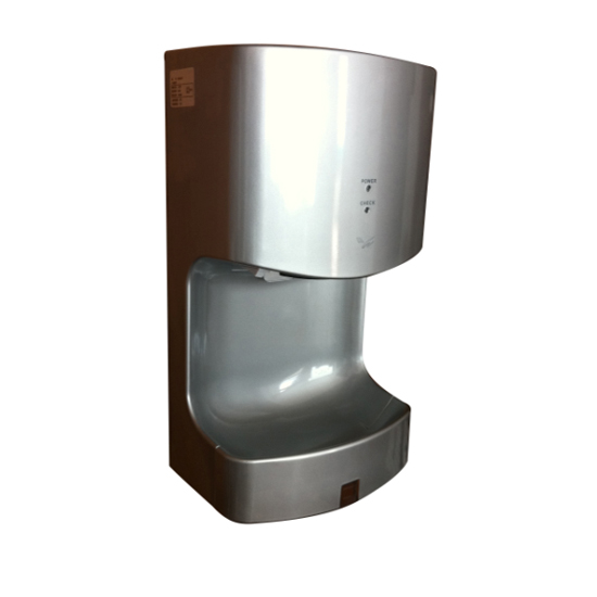 Single Jet Energy Efficient Hand Dryer TH-1568 Compact Design 90m/s Warm Or Cool Air Supply Electric Air Hand Dryer