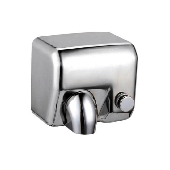 Manual operation stainless steel anti vandal washroom school hand dryer