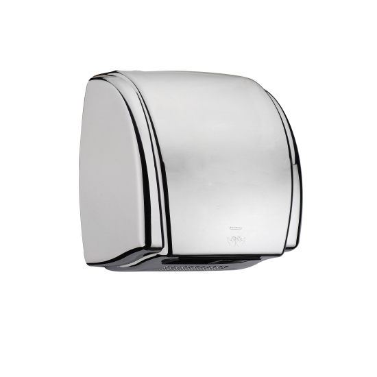 Compact MINI electric hygiene vortice stainless steel hand dryer