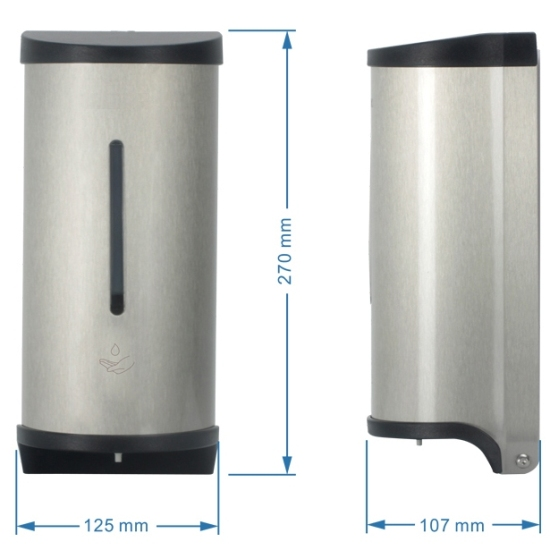 Touch Free Bathroom Stainless Steel Automatic Soap Dispenser