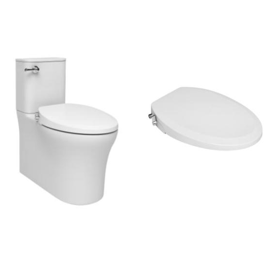 US Round Style One Piece None Electric Toilet Seat Bidet TB-108