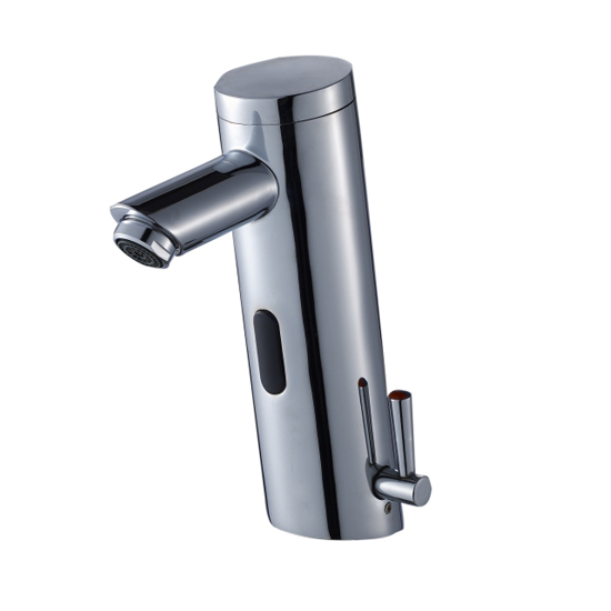 Temperature adjustable mix water automatic faucet TH-4014