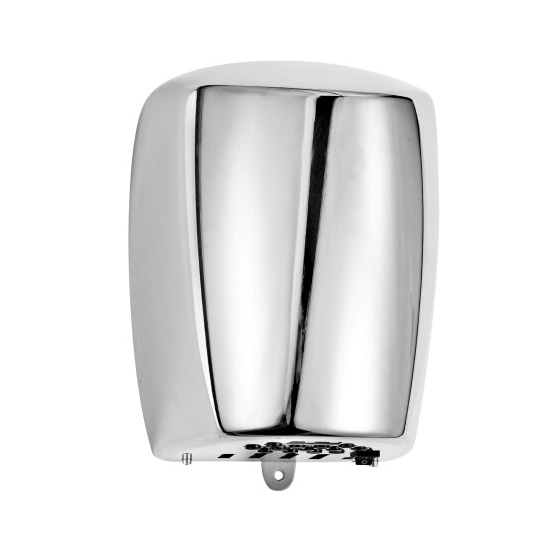 Column style heavy duty stainless steel artistic and durable air force world dryer toilet hand dryer