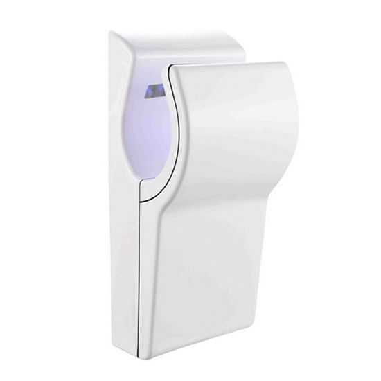 Professional Blade Jet Speed Air Blower Washroom Hand Dryer